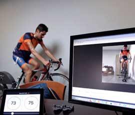 test de potencia ciclismo y medición lactato