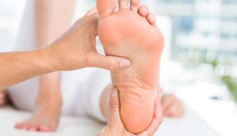 perdida de sensibilidad en los dedos del pie